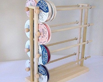 Super Ribbon Holder Wire Dispenser Storage Rack Organizer Holds 150 Spools