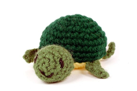 "Turtle Toy Doll Crochet Amigurumi - ""Jazz the Turtle"""