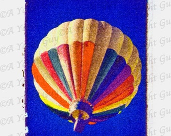 Hot Air Balloon Polaroid Image Transfer