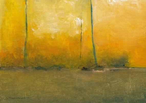 Morning, Elyria - Original Framed Oil Painting