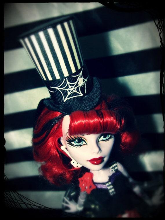 RESERVED FOR LINDSAY Monster High Ooak Custom Doll Hat Operetta
