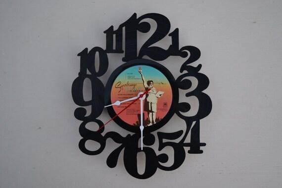 Vinyl Record Album Wall Clock (artist is SuperTramp)