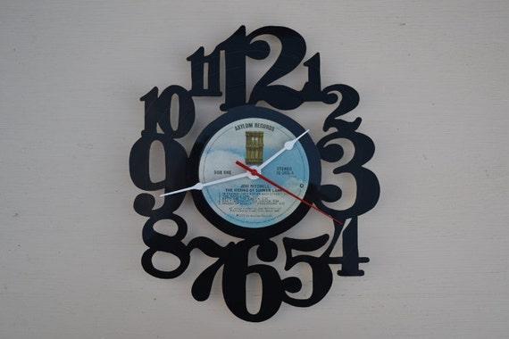 Vinyl Record Album Wall Clock (artist is Joni Mitchell)