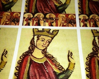 Eleanor of Aquitaine Wrapping paper/Giftwrap