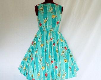 Salt Water Taffy Custom Made Swing Dress