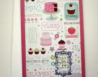 Birthday Card - Sweet Delights, little kids birthday card