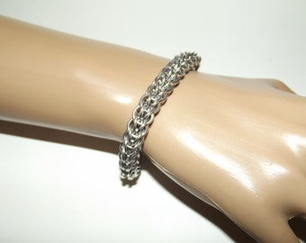 Customized Full Persian Chainmaille Bracelet