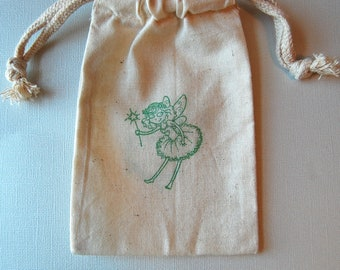 Fairy and Fairy Godmother Favor Bags / Set of 10 / Birthday Party Favors