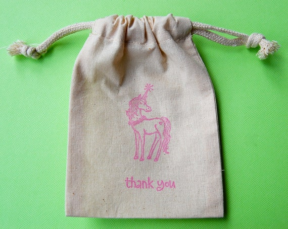 Unicorn Party Favor Bags / Set of 100/Birthday Party Favor Bags