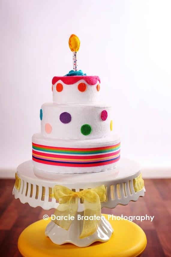 Polk-A-Dot Birthday Cake