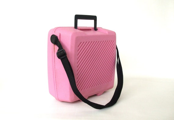 Lunch Box Aladdin Insulated Pink 1980s School Lunchbox Cooler