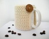Crochet Mug Cozy Crochet Coffee Cup Cozy Eco Friendly Reusable