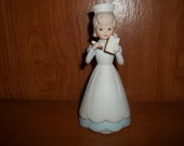 NURSE Figurine LEFTON CHINA 1984 item 04251 Hand painted Christopher collection