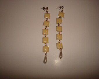 Mod drop earrings