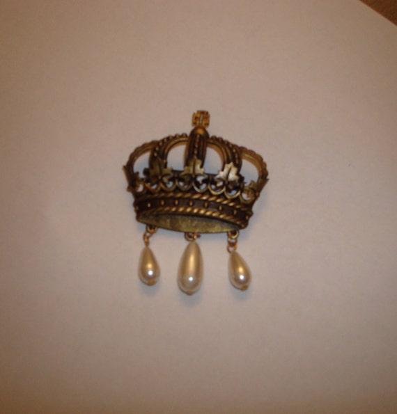 1980s crown pins