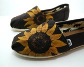 Sunflower CUSTOM TOMS