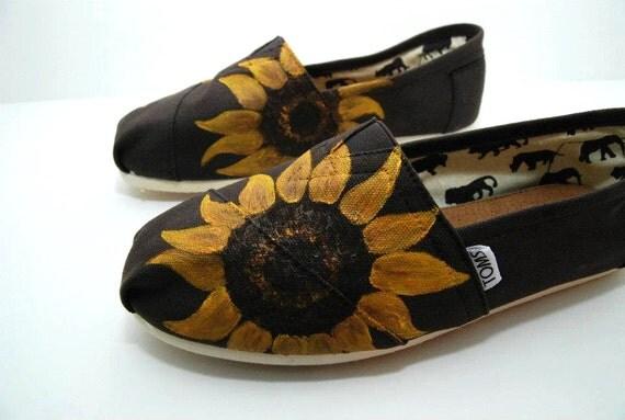 Sunflower CUSTOM TOMS