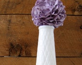 EO Brody Milk Glass Vase. Wedding Decor. Home Decor.