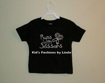 School Runs with Scissors T-shirt