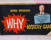 RESERVED FOR melissacomo 1958 Vintage Alfred Hitchcock WHY Board Game