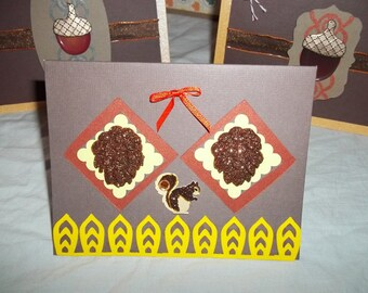 Thanksgiving Card Set 1 Set of 6 Cards