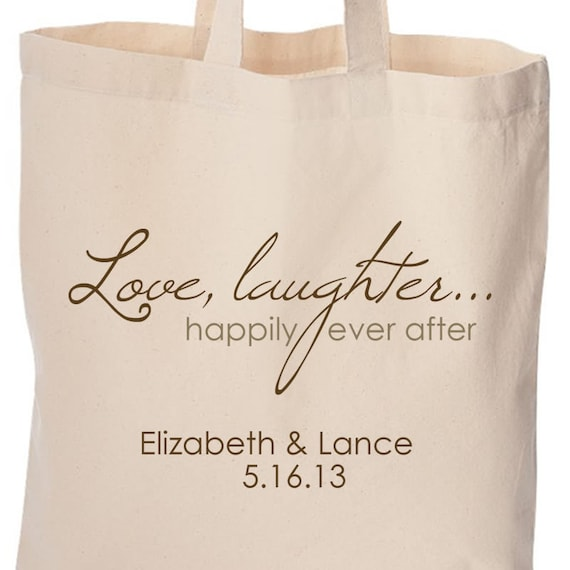 Wedding Hotel Gift Bag Sayings : wedding party gifts or gift bags for wedding guests love laughter and ...