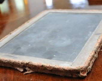 Antique chalkboard book 1900s, chalkboard tablet