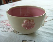 Thrown small Bowl - Pink Ume