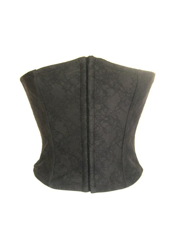 Vintage Black Corset Size XL/44