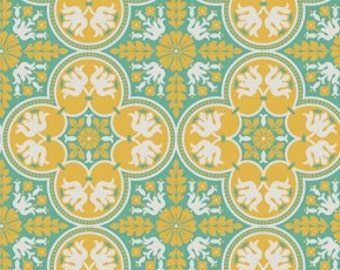 SALE - Notting Hill - Canary Historic Tile by Joel Dewberry from Free Spirit