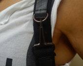 ARMADILLO innertube /  BOTH Shoulder + Hip holster bag | Festival Bag | Utility Pocket Belt | Fanny Pack | Industrial | Burning Man