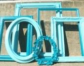Blues Ornate Picture Frame Set
