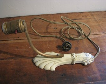 Vintage 1920 Chippy Sconce Art Deco
