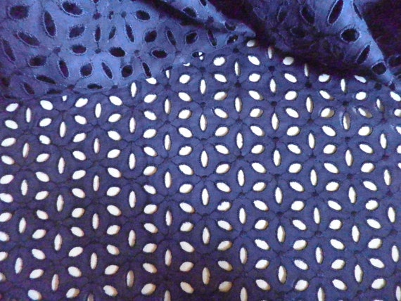 Find great deals on eBay for blue eyelet fabric. Shop with confidence.