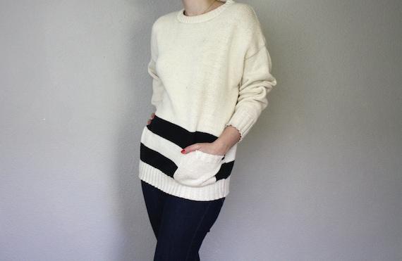 Vintage Cream Charlie Brown Sweater