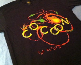Vintage 1988 Cocoon The Return movie promo t-shirt, small