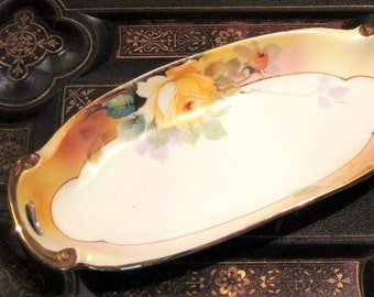 Antique Nippon Celery Dish