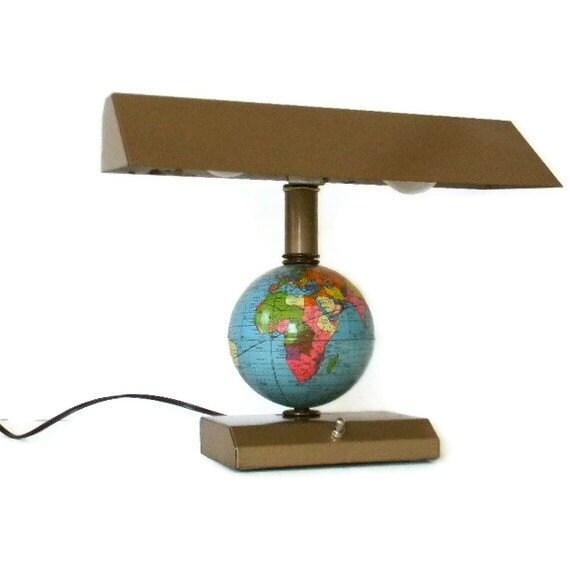 Vintage Globe Desk Lamp