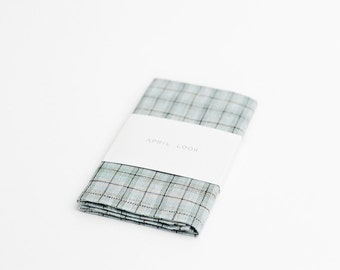 Plaid wedding handkerchief