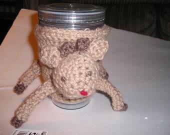 Reindeer Cup Cozy
