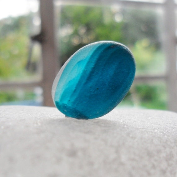 Stunning turquoise and aqua sea glass multi from North east England