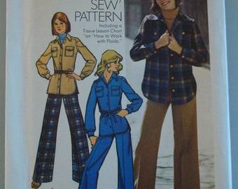Vintage OOP Simplicity Womens Sewing Pattern 5854 size 7/8 Uncut