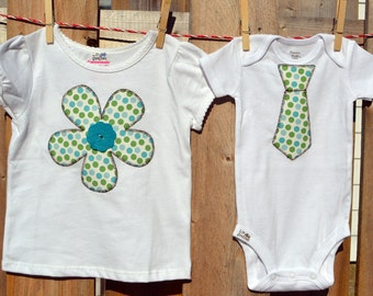 Sibling T-Shirt Set  (Set of 2)
