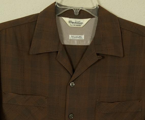 50s -L- Rayon - Flecked - RnR - Shirt - 1950s - Rockabilly - Rock n Roll