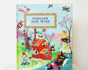 Illustrated Vintage Kids Book