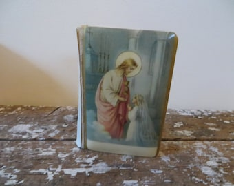 Celluloid Prayer Book With Jesus Prayer Book Catholic Childs Prayer Book 1922