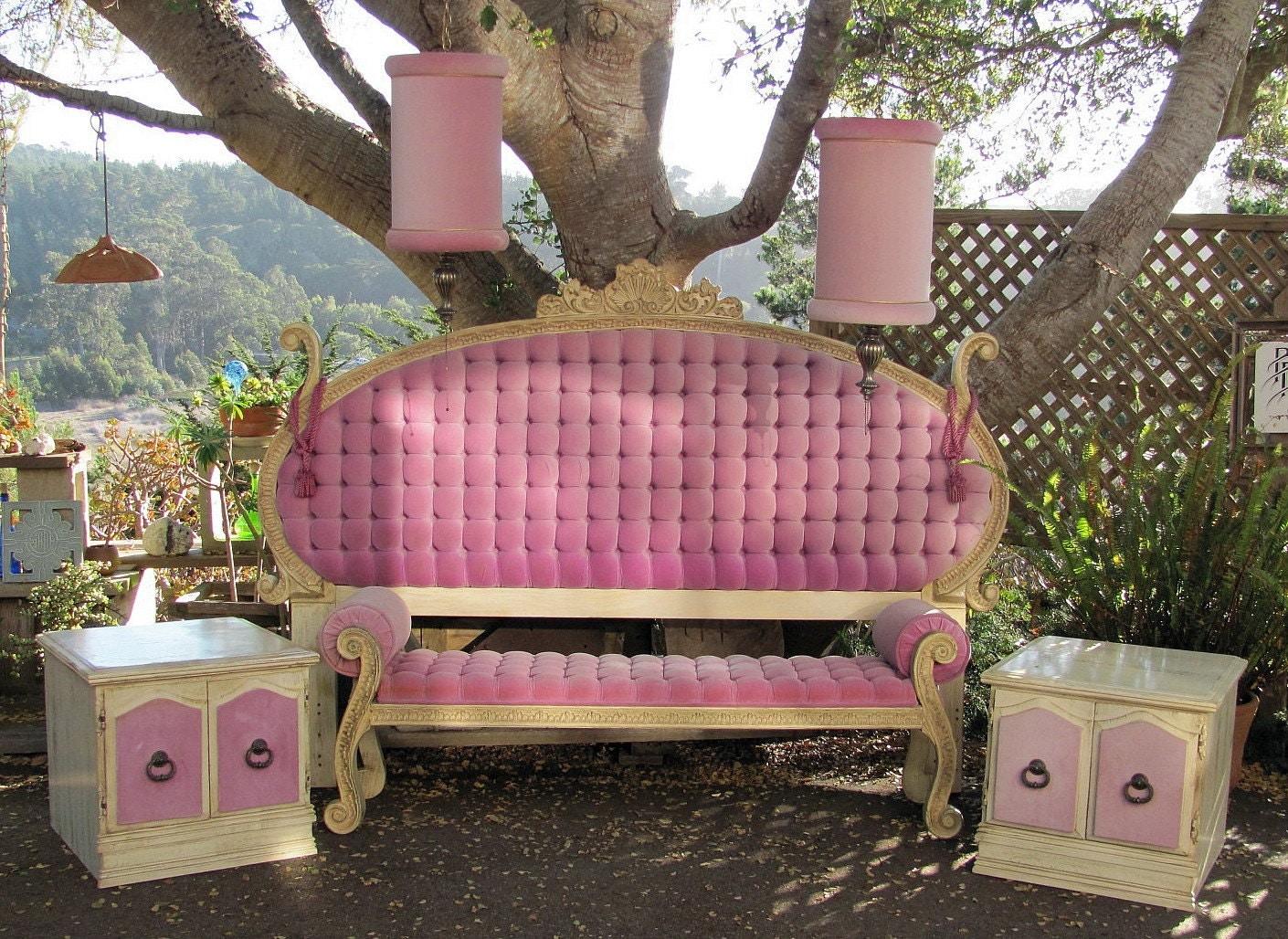 On Hold For Lauren Hollywood Regency 6 Piece Bedroom Set