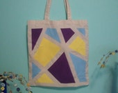 RESERVED FOR CHERYL Geometric Tote Bag ( free shipping)