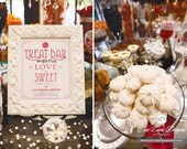 Candy Bar Sign for Showers & Parties - Printable and Personalized