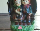 Vintage hummel like music figurines